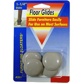Grey Floor Glides