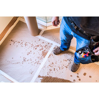 Water Shield Protecting Floors From Spills