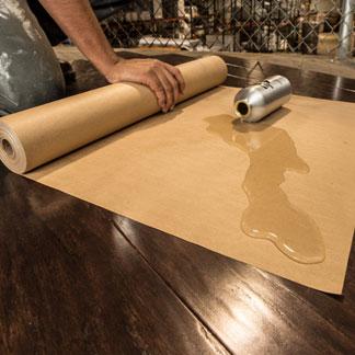 Water Resistant Kraft Paper Resisting Water