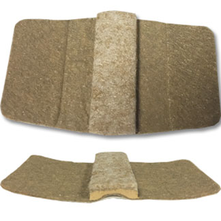Tan Wrap Around Felt